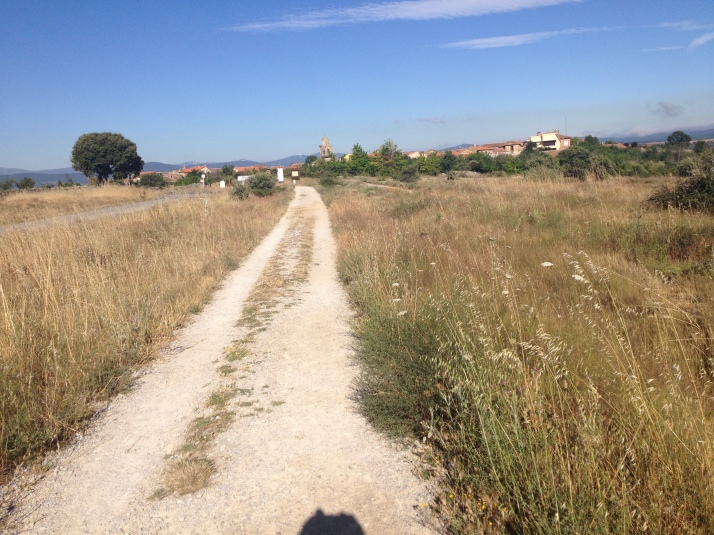 Path from Astorga to Rabanal Del Camino