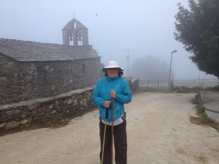 Cold and foggy start on the mountain