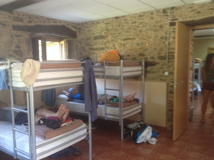 Our Albergue in Ribadiso