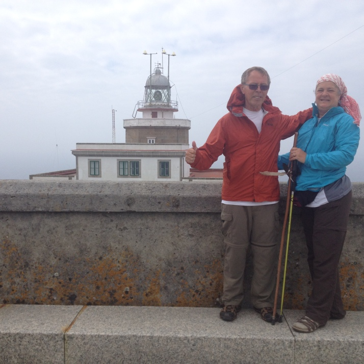 Fisterra Lighthouse at the end of the world