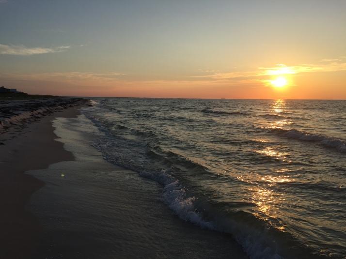 Sunrise on Dog Island