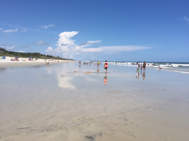 On Ponte Vedra Beach